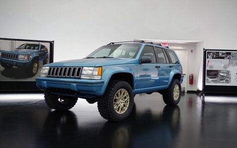 Jeep turned a Craigslist find 1993 Jeep Grand Cherokee into a resto-modded family crawler.