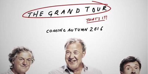 """The new show by the former """"Top Gear UK"""" hosts will be called """"The Grand Tour."""""""