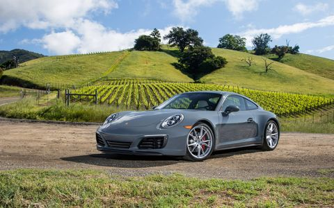 The Porsche 911 Carrera and Carrera S get turbocharged 3.0-liter engines, seven-speed transmissions, manual or automatic, and standard PASM across the range.
