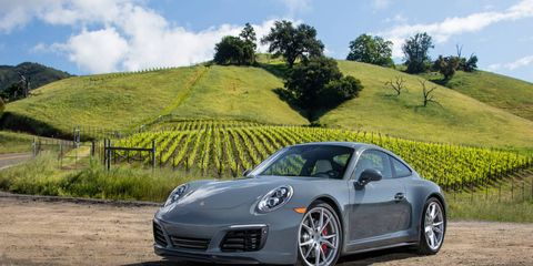 The Porsche 911 Carrera and Carrera S get turbocharged 3.0-liter engines.