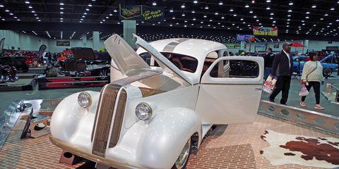 Legens Hot Rod shop built this 1936 Pontiac for the 2018 Detroit Autorama.