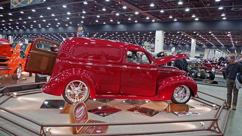 This 1939 Ford sedan delivery might not be your first idea of an award-winning show car, but it was well done enough to get it to the Great 8 at this year's Detroit Autorama.