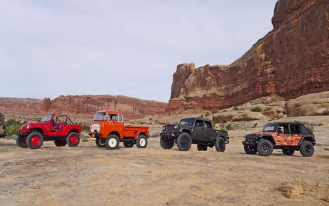 We went to Moab, Utah to drive all seven of the 2016 Easter Jeep Safari concepts, from the 707-hp Wrangler Trailcat to the retro FC 150 restomod.