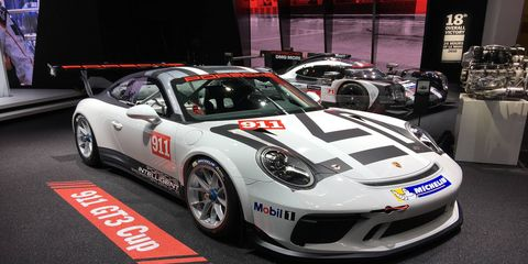 The Porsche 911 GT3 Cup will go racing in 2017