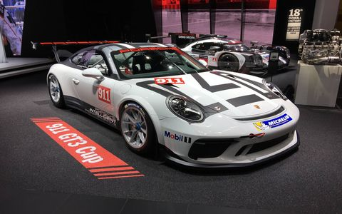 The Porsche 911 GT3 Cup will go racing in 2017