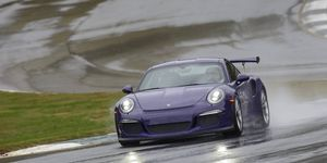 Porsche's 2016 911 GT3RS and Cayman GT4 on Road Atlanta