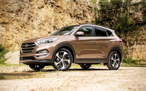 The Tucson is all-new for the 2016 model year, with a new turbocharged 1.6-liter engine on board.