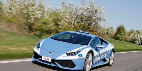 The Polizia Stradale will now have two Huracans at their disposal.