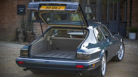This 1993 XJS 4.0 was converted to a hatch just ten years ago.