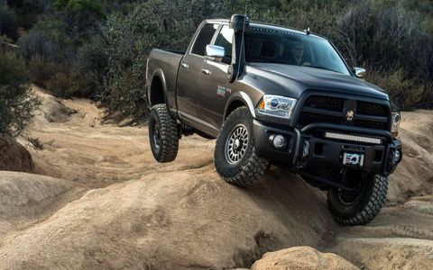 The 4x4 Ram 2500 is already pretty competent off road, AEV just makes it more so.
