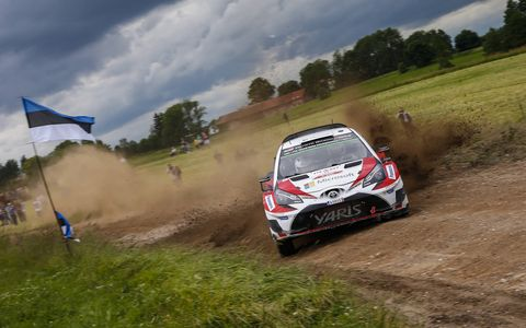 Sights from the Orlen 74th Rally Poland on Sunday July 2, 2017.