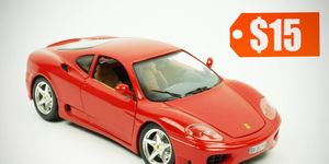 1:18-scale models of Ferraris like the 360 Modena can go for as low as $15. But not everywhere and every time.