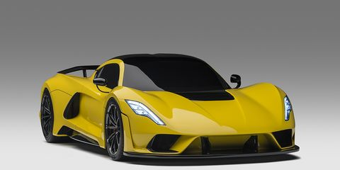 The Venom F5, just 24 of which will reportedly be built, will make its world debut at the Geneva motor show after an appearance at SEMA in November 2017.
