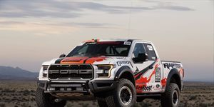 The 2017 Raptor will race six events this year in the Best of the Desert series.