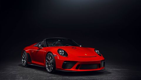 The 991-based Porsche 911 Speedster will go into production in early 2019.