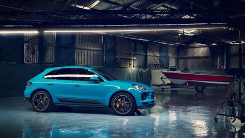 The 2019 Porsche Macan gets updates inside and out; we're still waiting for power outputs.