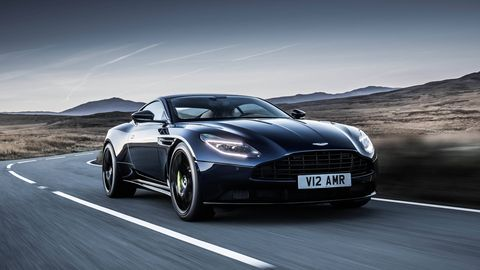 The Aston Martin DB11 AMR takes the V12 DB11 to the next level, with more power and a 208-mph top speed.