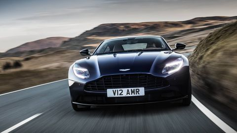 The Aston Martin DB11 AMR takes the V12 DB11 to the next level, with more power and a 208 mph top speed.