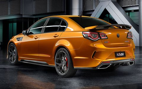 With 636 hp and 601 lb-ft of torque on tap, the HSV GTSR W1 will be Holden's final masterpiece in addition to Australia's most powerful production car.