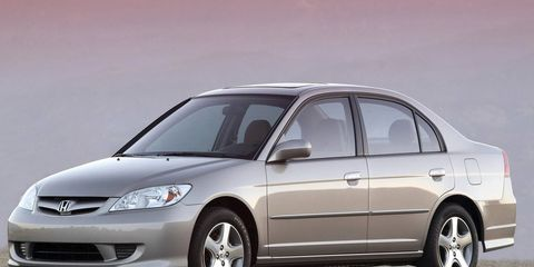 2001-2005 Honda Civics are impacted by the widespread airbag recall.