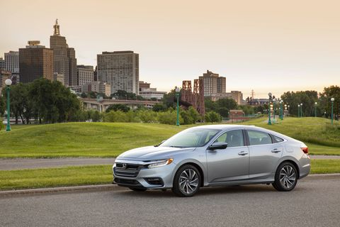 The 2019 Honda Insight makes a total system output of 151 hp and 197 lb-ft of torque.