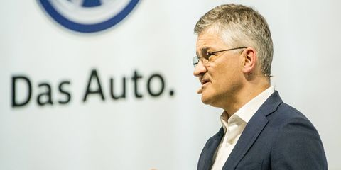 VW U.S. CEO Michael Horn appeared before media, dealers and employees on Monday of this week.