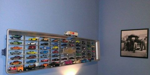 Hot-rodders Ben Chapman and Matt Fellen came up with the perfect way to display Hot Wheels with dignity.