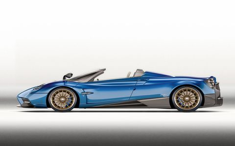 The Pagani Huayra Roadster is your $2.4 million open-air supercar.