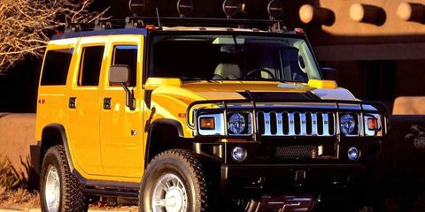 The Hummer H2 was created to tow large vessels, but ended up on the school run anyway.