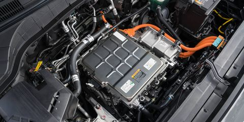 The 2019 Hyundai Kona Electric and look inside and in detail