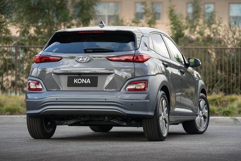 The 2019 Hyundai Kona Electric in the flesh