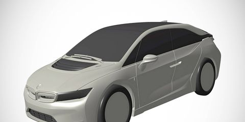 A patent filing in Japan included images of this future BMW model.