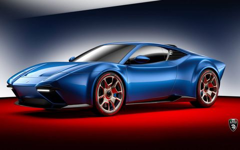 The Panther's dimensions should be about the same as the Lamborghini Huracan since it utilizes its carbon fiber and aluminum chassis.