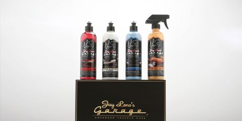 The car care kit can be purchased at LenosGarage.com.