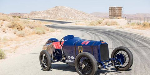 This 1914 Peugeot L45 Grand Prix two-seater will be up for sale at the Bothwell Collection Nov. 11.