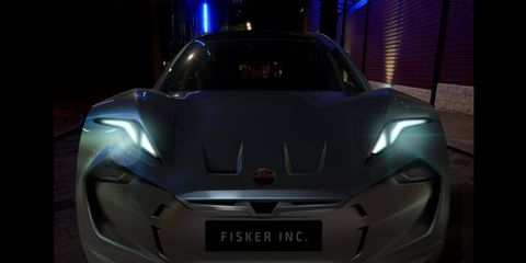 The new Fisker's front end has no grille. What do you think?