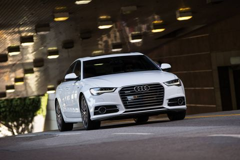 The 2017 Audi A6 has four engine options ranging from a turbocharged I4 to a  turbocharged V8  ranging from 252 hp all the way to 450 hp.