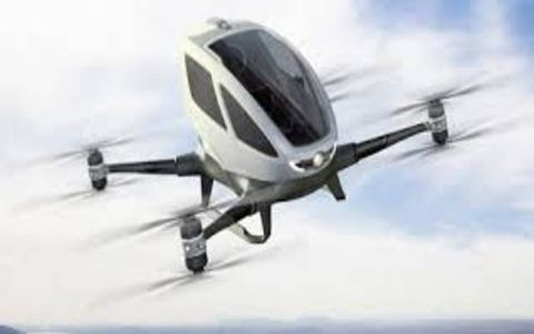 The eHang 184 is a personal drone that takes you wherever you want to go.