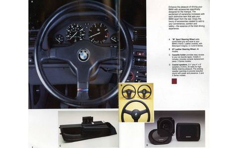 The pop-up cassette tape holder was a popular 1980s German-car accessory.