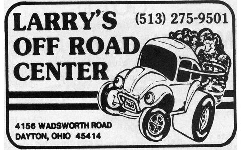 Larry's Off Road Center of Dayton, Ohio, is still in business today.