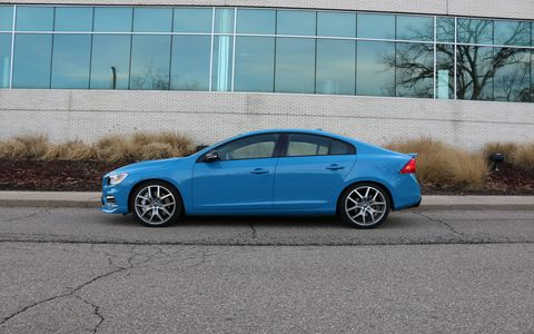 The 2015 Volvo S60 Polestar lineup consists of an all-wheel-drive sedan from their new performance partner and racing team from back home in Sweden.