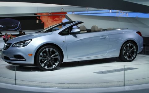 The Cascada is Buick's first convertible since the Reatta.
