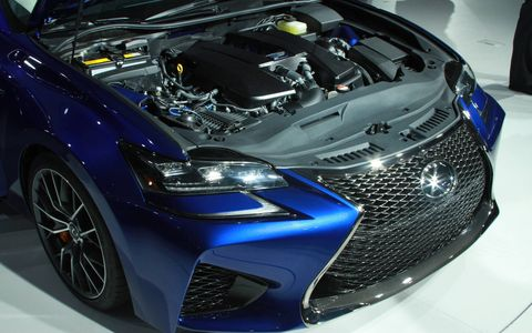 The Lexus GS-F was introduced at the 2015 Detroit auto show