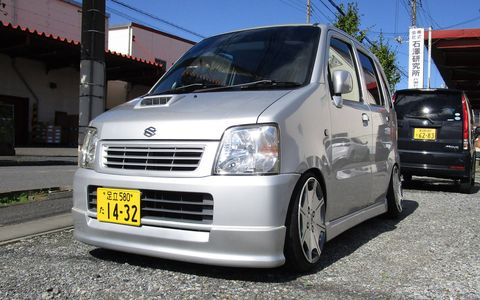 The Wagon R has been a big seller in Japan.
