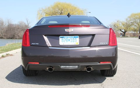 The EPA-estimated fuel economy for the ATS is 21 mpg city/31 mpg highway/25 mpg combined.