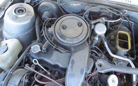 Iron Duke engine in 1984 Oldsmobile Omega