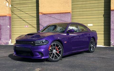 This plum crazy purple Charger packs a 6.4-liter V8 making 485 hp and 475 lb-ft of torque.
