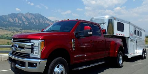 We drive the 2017 Ford Super Duty.