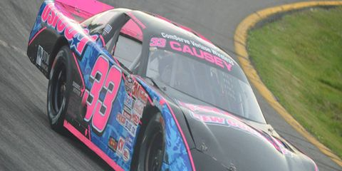 14-year-old late-model driver Macy Causey looks to follow in her grandmother's footsteps next week in Martinsville.