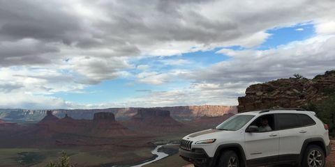 The Jeep Cherokee Trailhawk will take you there.